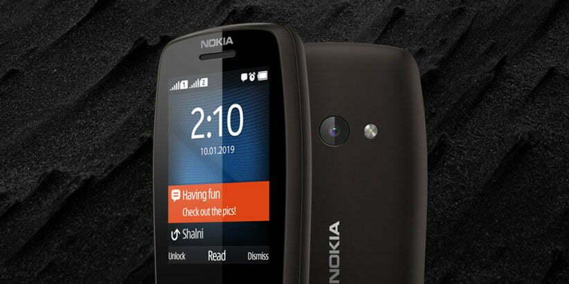 نمایشگر گوشی موبایل نوکیا 210