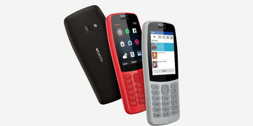 طراحی گوشی موبایل نوکیا ساده مدل 210