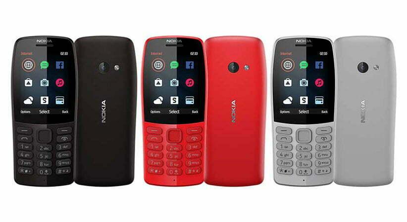 قیمت خرید گوشی موبایل نوکیا ساده مدل 210
