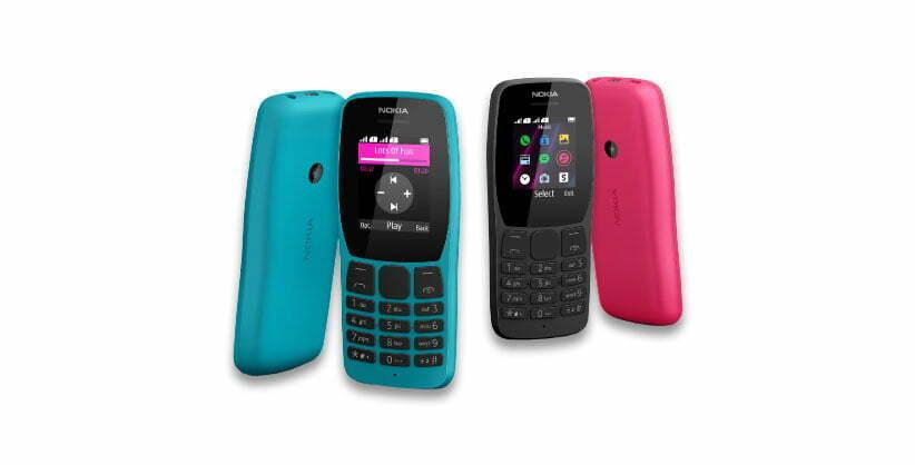 طراحی گوشی نوکیا مدل 110