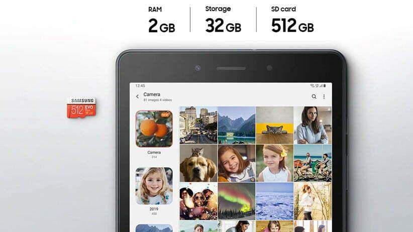 طراحی تبلت سامسونگ مدل Galaxy Tab A LTE SM T295