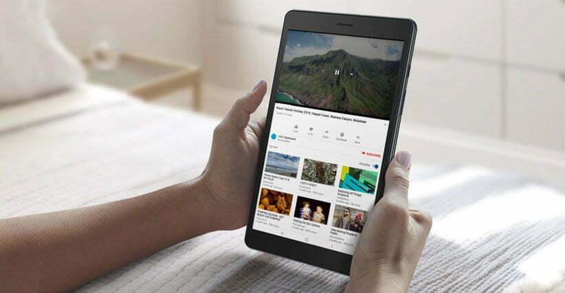 عملکرد و باتری تبلت سامسونگ مدل Galaxy Tab A LTE SM T295