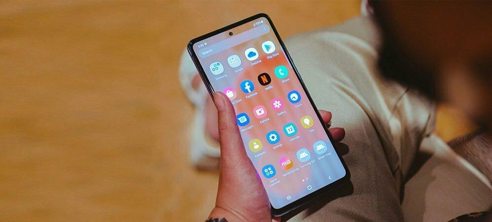 صفحه نمایش گوشی موبایل سامسونگ مدل Galaxy A72