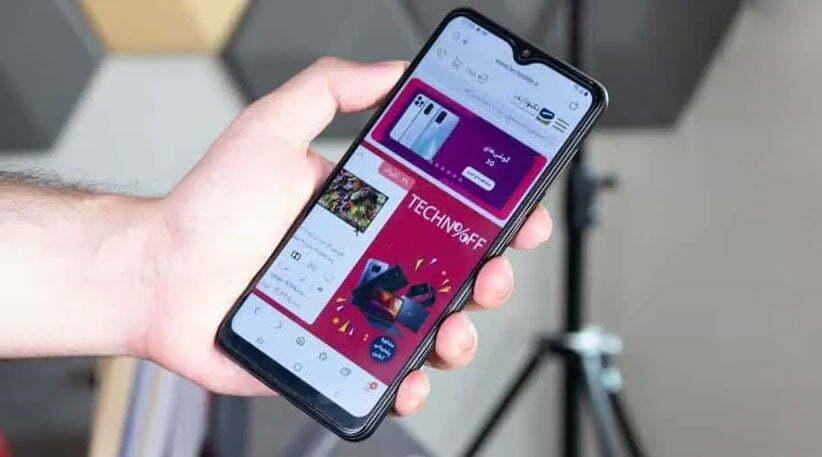 صفحه نمایش گوشی سامسونگ A12