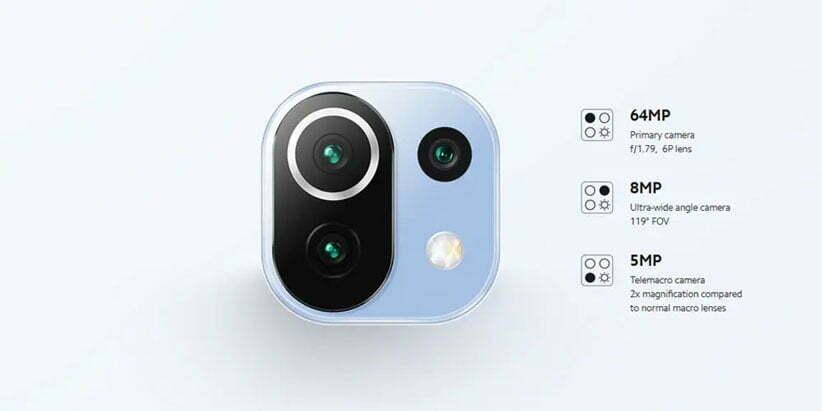 دوربین Mi 11 Lite