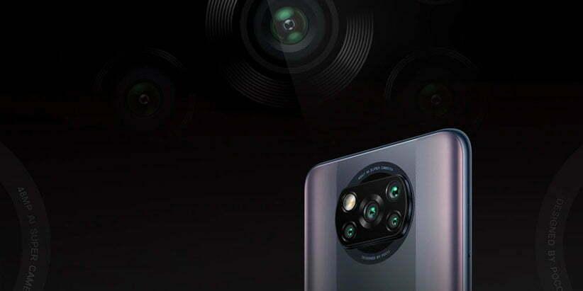 دوربین گوشی Poco X3 Pro