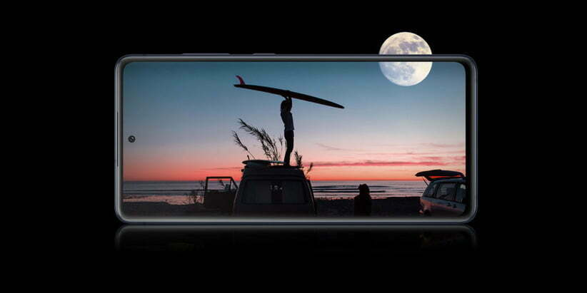 صفحهنمایش با کیفیت Galaxy S20 FE