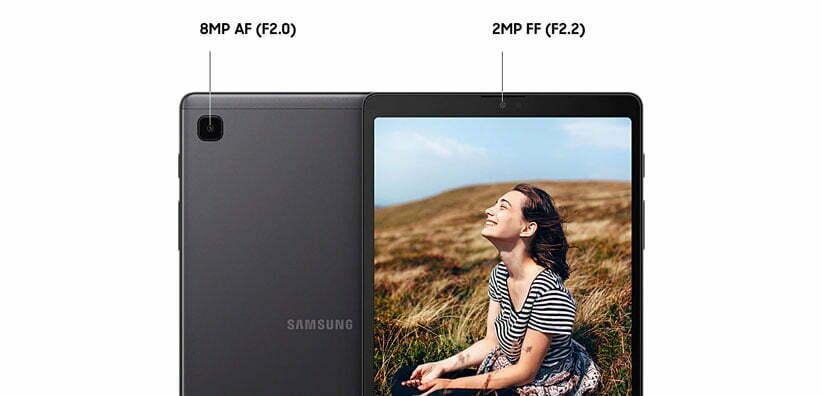دوربین تبلت سامسونگ مدل Galaxy Tab A7 Lite SM T225N