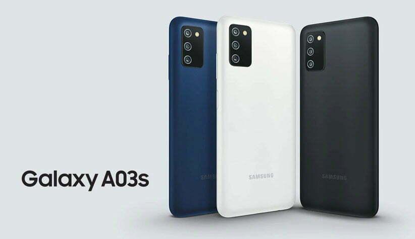 قیمت خرید گوشی موبایل سامسونگ مدل Galaxy A03s