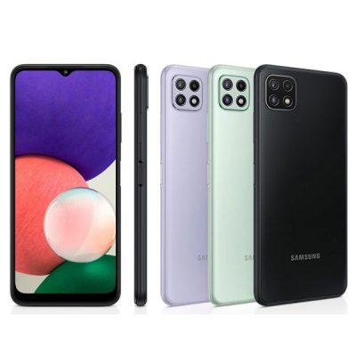 گوشی موبایل سامسونگ Galaxy A22 دو سیم کارت ظرفیت 128/8 گیگابایت 5G