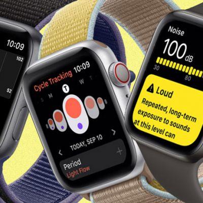 اپل احتمالاً مشغول کار برروی مجموعهای از ویژگیهای سلامتمحور برای اپل واچ است