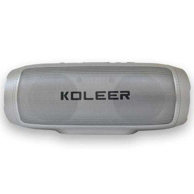 اسپیکر بلوتوثی رم و فلش خور Koleer S1000 خاکستری سیلور