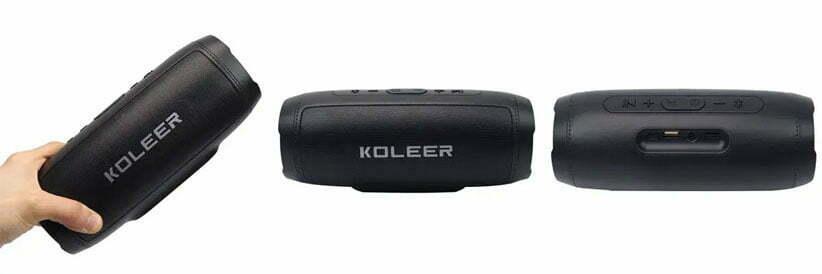 اسپیکر بلوتوثی رم و فلش خور Koleer S1000